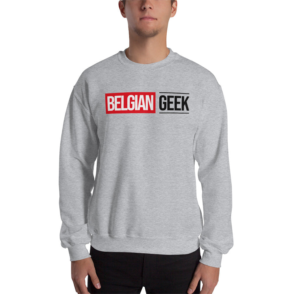 Belgian Geek Sweater