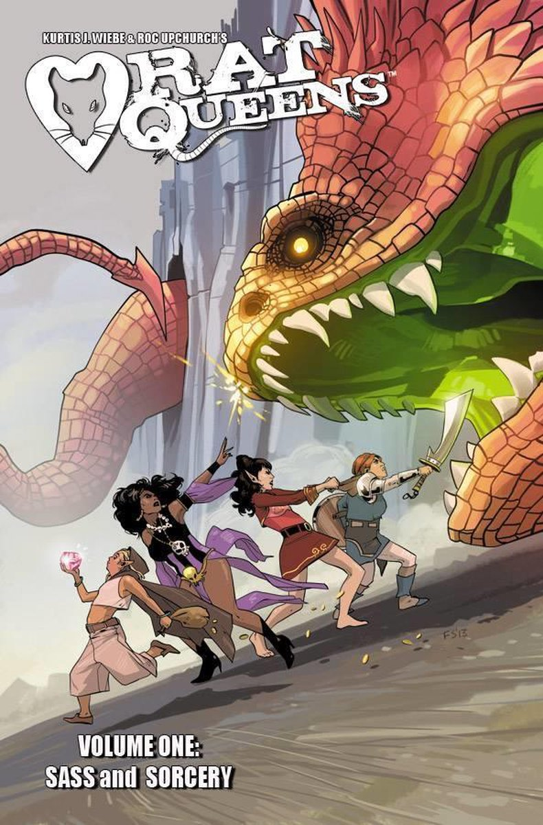 Rat Queens Volume 1: Sass & Sorcery (TPB) (2014)