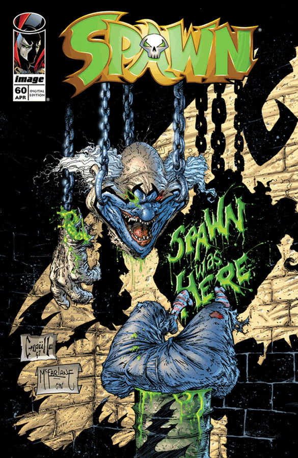 Spawn First Print #60 Graphic Cover