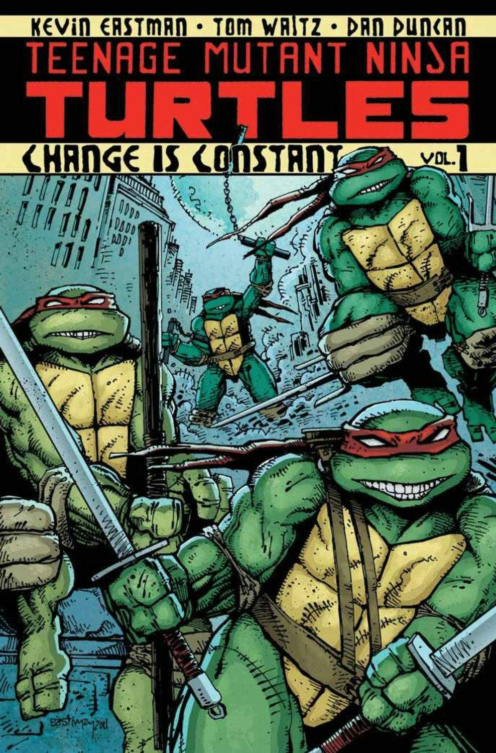 Teenage Mutant Ninja Turtles Volume 1: Change is Constant (TPB) (2012)