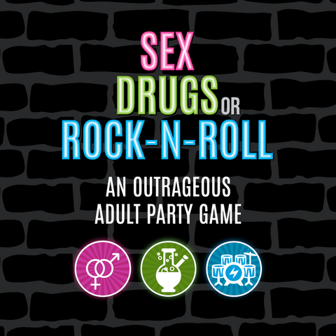 Sex, Drugs or Rock-N-Roll Adult Party Card Game