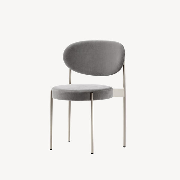 Series 430 Chair - Børstet stål stel