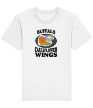 Load image into Gallery viewer, Buffalo Cauliflower Wings Unisex | Vegan T-Shirt - Bad Hass Designs