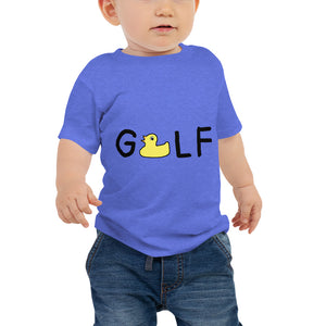 Rubber Ducky Golf Baby Jersey Short Sleeve Tee