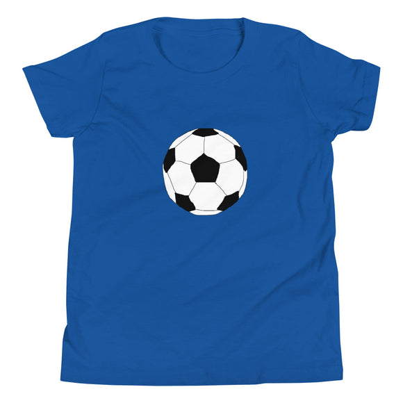 Soccer Ball Youth Short Sleeve T-Shirt
