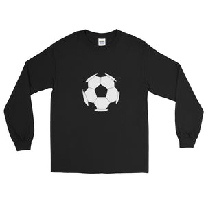 Soccer Ball Men's Long Sleeve Shirt