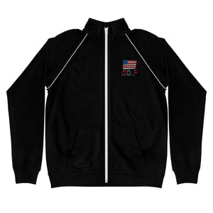 American Golf Piped Fleece Jacket