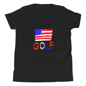 America Golf Youth Short Sleeve T-Shirt