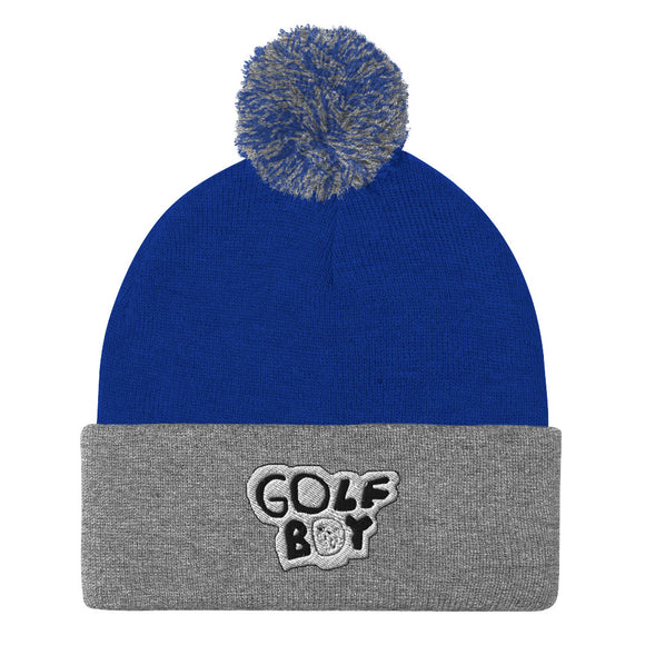 The Original Golf Boy Pom-Pom Beanie