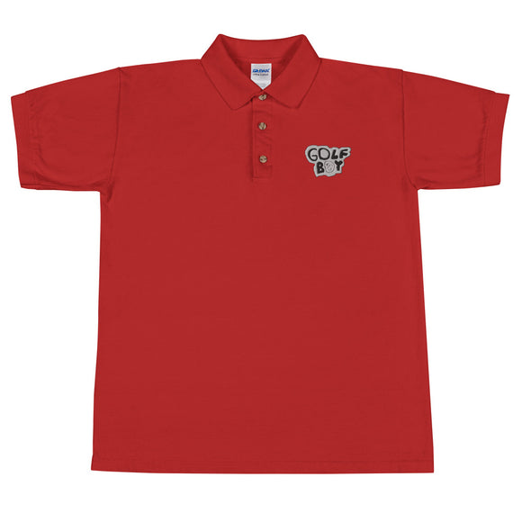 The Original Golf Boy Embroidered Polo Shirt