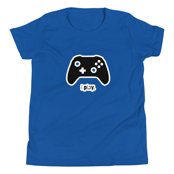 I Play Video Games Youth Short Sleeve T-Shirt