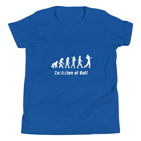 Evolution of Golf Youth Short Sleeve T-Shirt