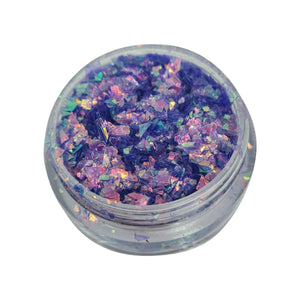 Purple Rain Shards Nail Glitter