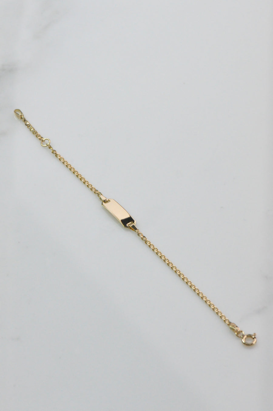 18K baby bracelet yellow gold