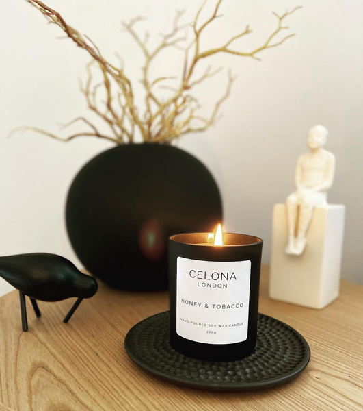Scented Soy Wax Candle - Home Fragrance