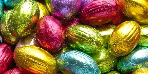 Foiled Chocolate Eggs BOGO Valid til 3/15