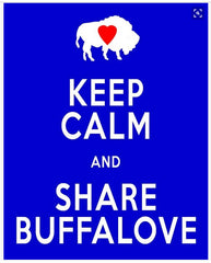 keep calm and share