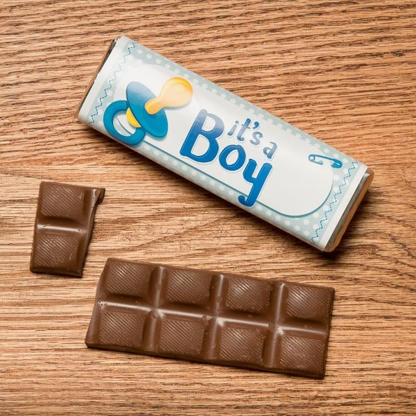 "Buffalo's Best ""It's a Boy"" Chocolate Candy Bars by Fowler's Chocolates"