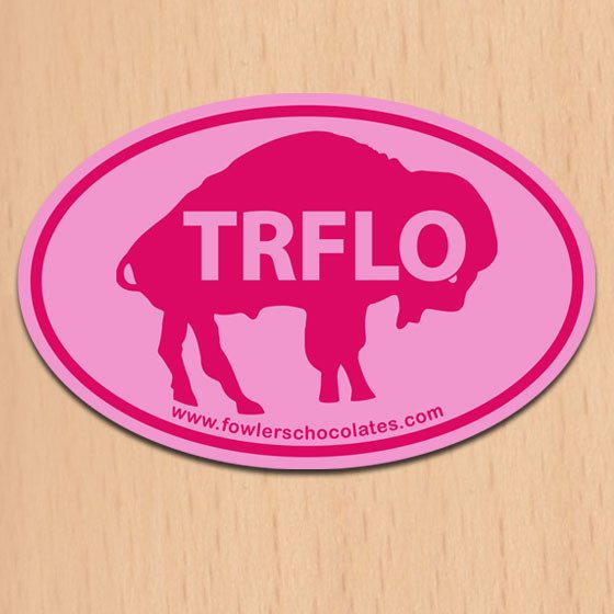 Buffalo's Best TRFLO sticker by Fowler's Chocolates