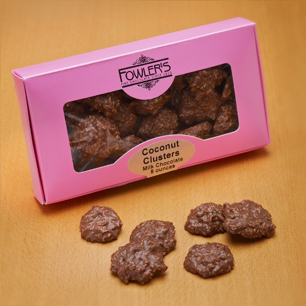 Buffalo's Best Coconut Clusters by Fowler's Chocolates