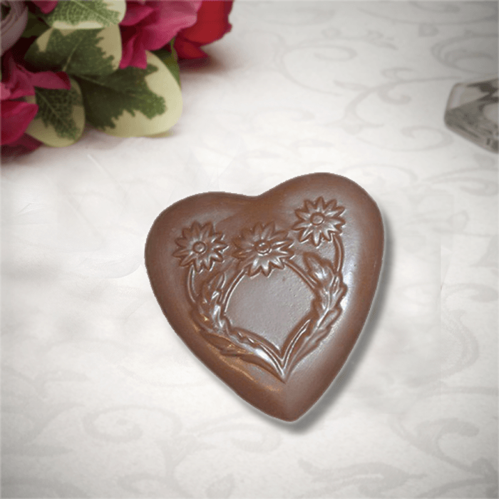 Buffalo's Best Daisy Heart by Fowler's Chocolates