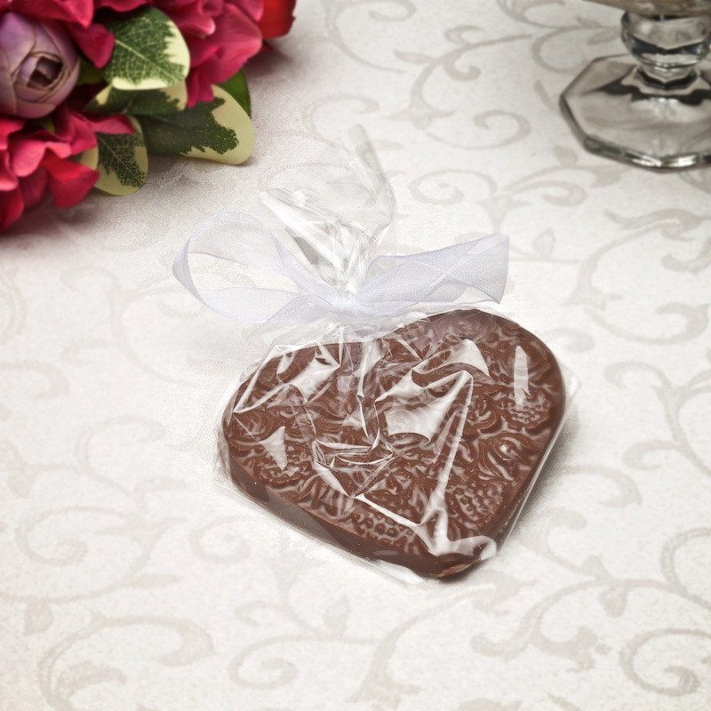 Buffalo's Best Flower Heart by Fowler's Chocolates