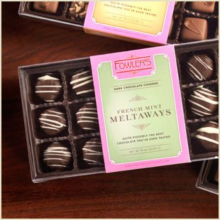 Buffalo's Best French Mint Melt-Aways by Fowler's Chocolates