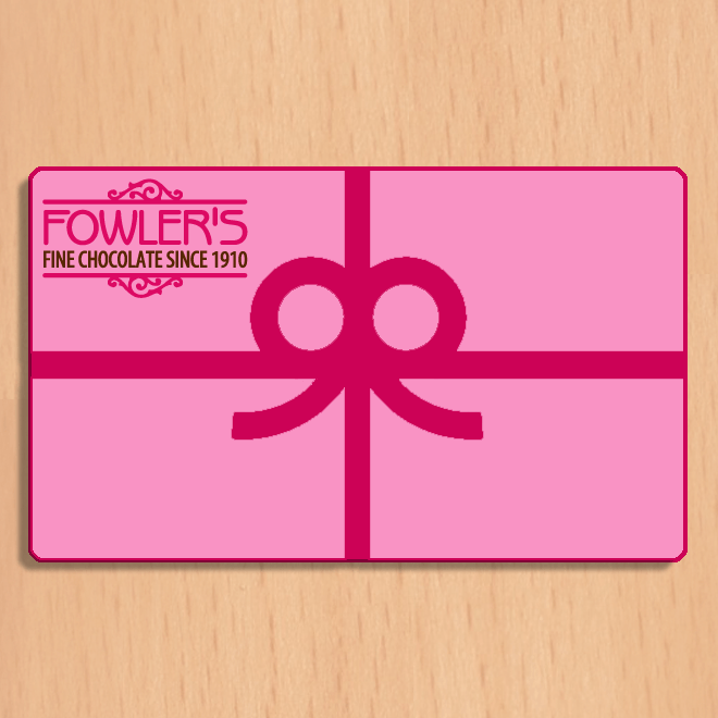Buffalo's Best Gift Card by Fowler's Chocolates