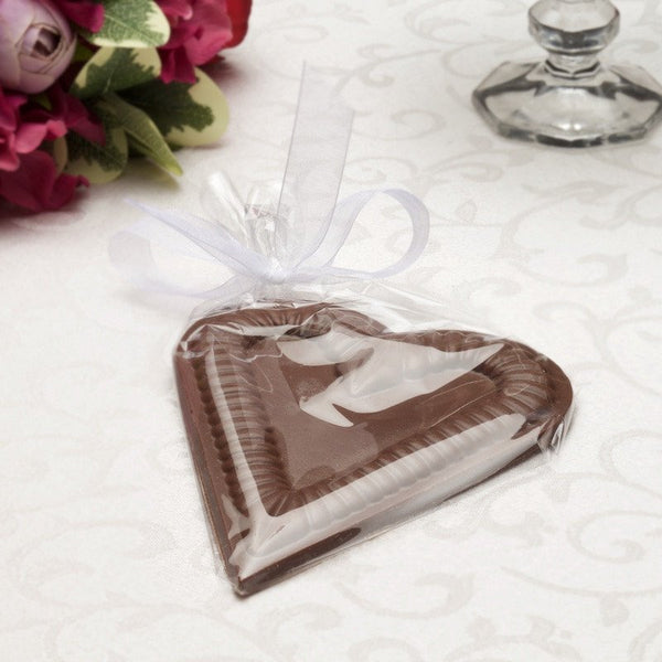 Buffalo's Best Lace Heart by Fowler's Chocolates