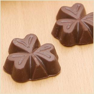 Buffalo's Best Mini Shamrocks by Fowler's Chocolates