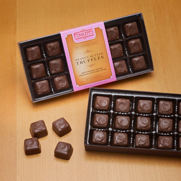 Our peanut butter truffle is every candy lover's dream.