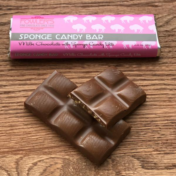 Buffalo's Best Sponge Candy Bar by Fowler's Chocolates