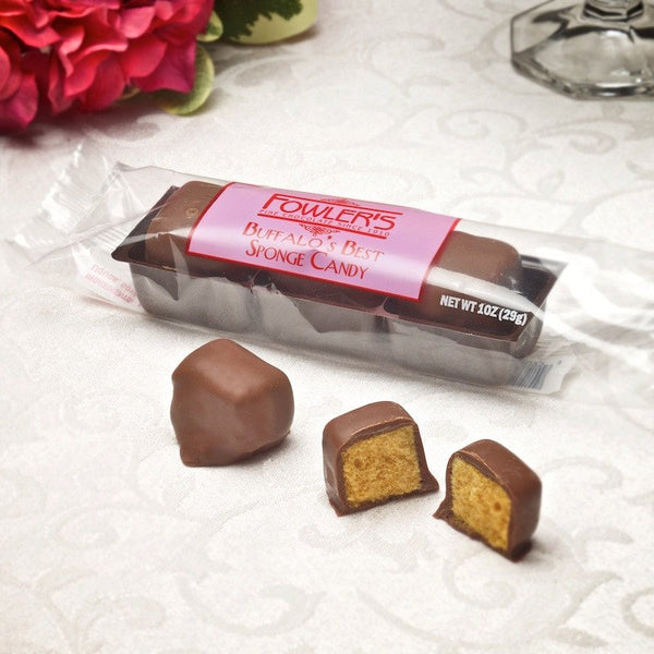Our sponge candy trio is a perfect mid day snack.