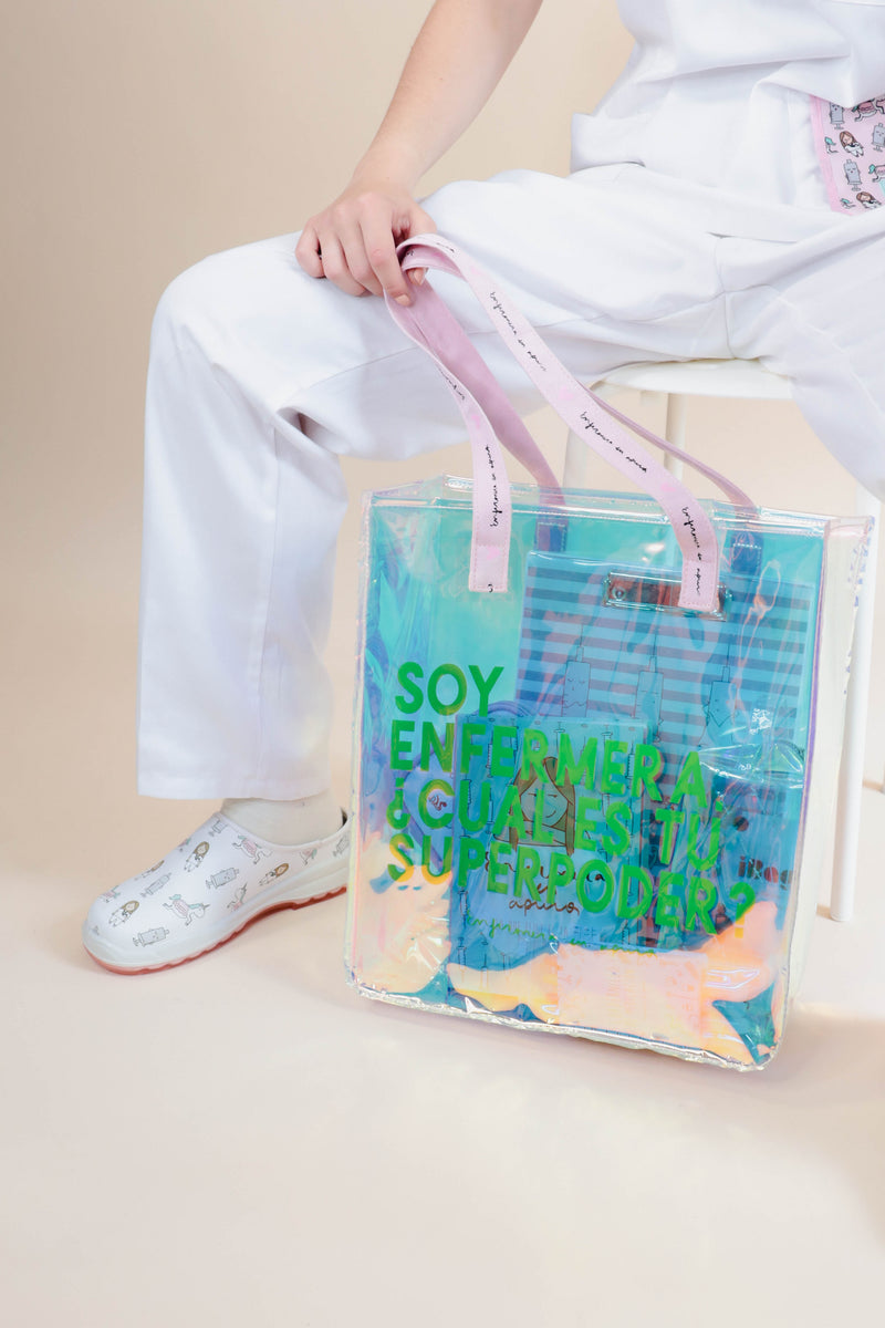 SHOPPING BAG ENFERMERA CON SUPERPODERES