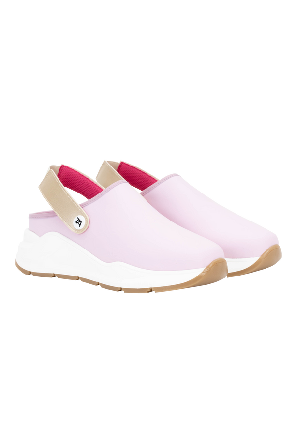Zuecos Technical Platforms - Cute pink