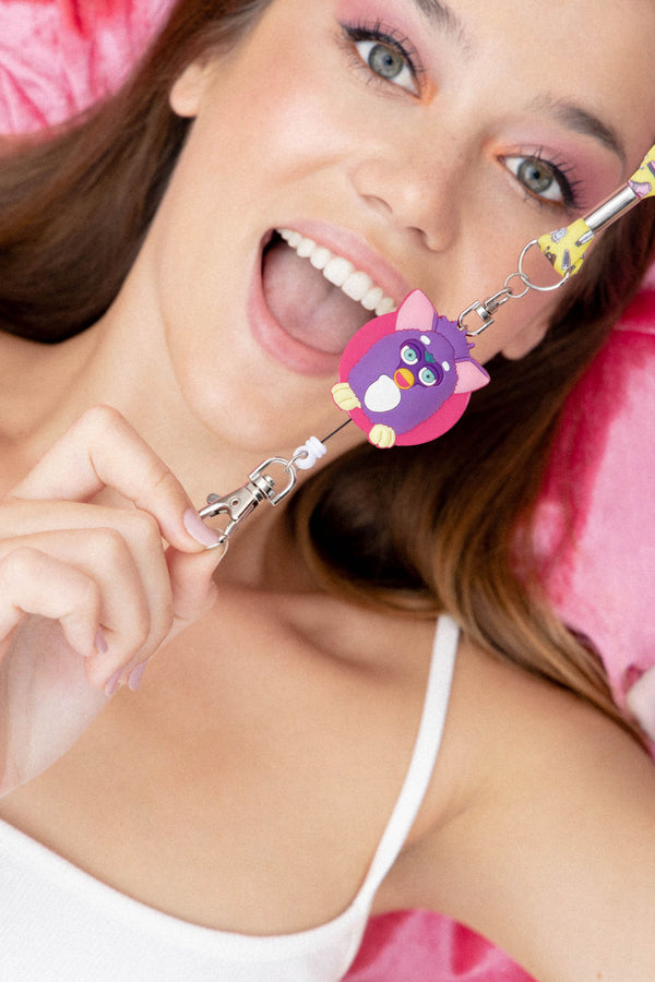 LANYARD RETRÁCTIL FURBY 90'S COLLECTION