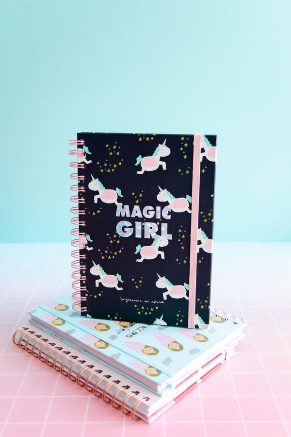LIBRETA A5 MAGIC GIRL