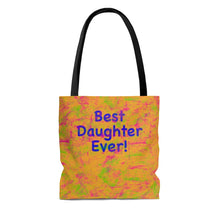 Load image into Gallery viewer, Best Daughter Ever! Long Strapped Tote