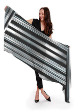Load image into Gallery viewer, American Steel Long Scarf - cashmere/silk blend - 16 of 25 Left