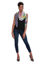 Load image into Gallery viewer, Lotus at Dawn Long Scarf - Modal - Only 3 Left
