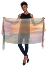 Load image into Gallery viewer, Desert Sunset Long Scarf - Modal - 53 of 75 Left