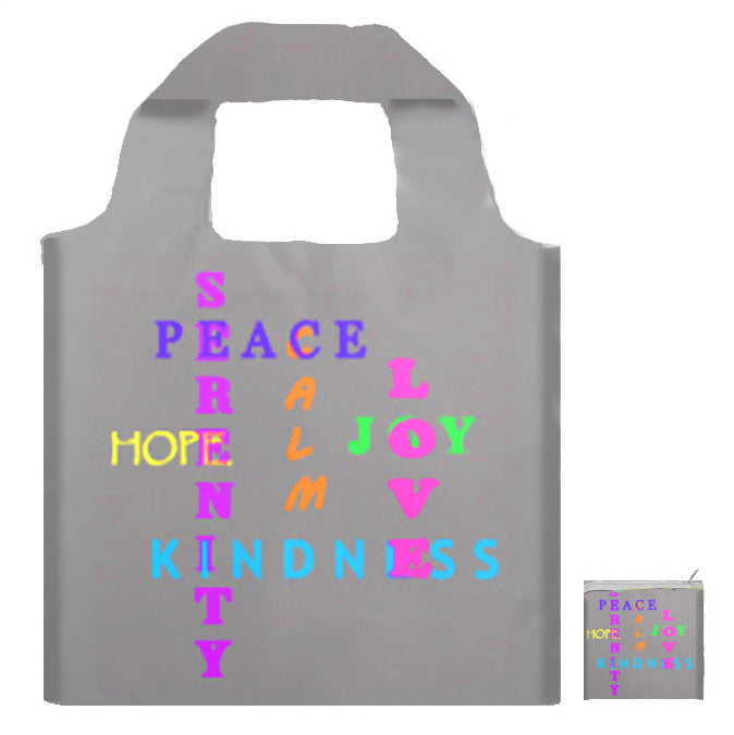 Joy Hope Foldaway Tote  - Only 2 Left