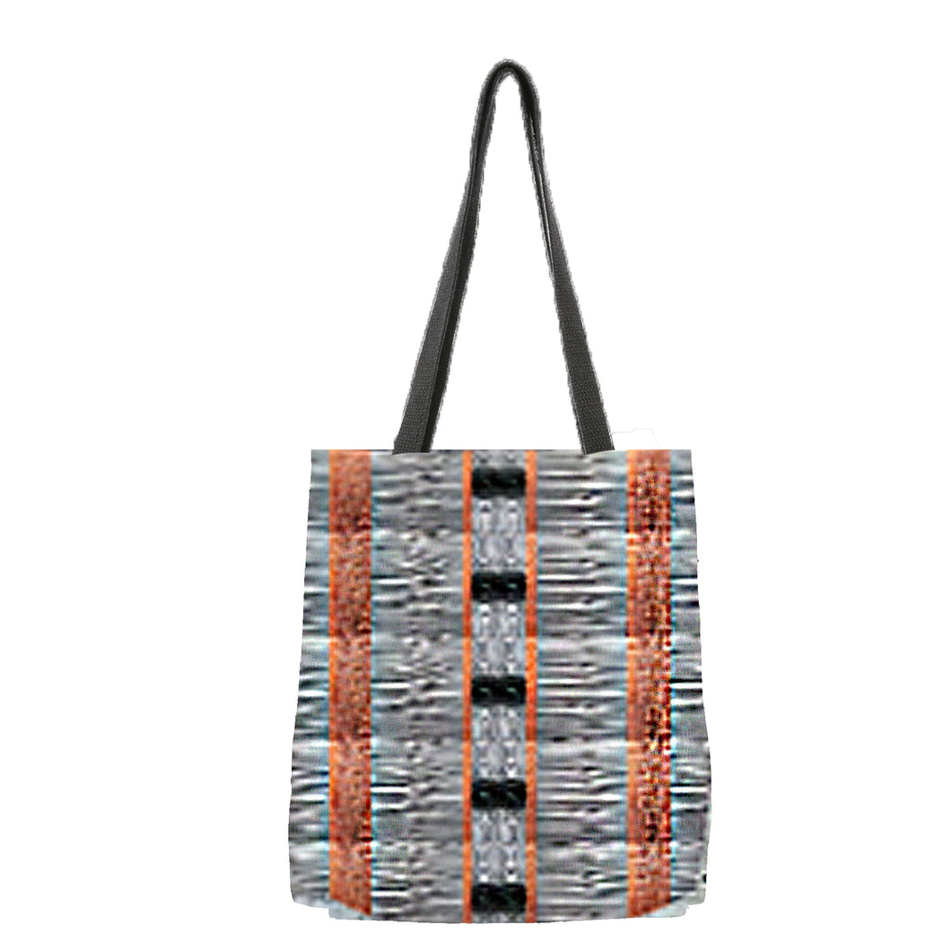 Metal Up and Down Long Strapped Tote - Only 5 Left