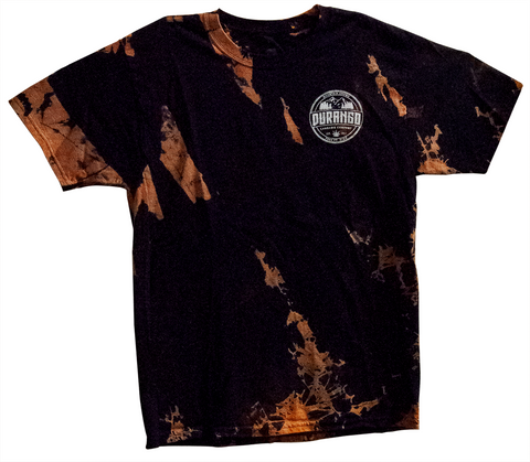 Bleached Ty-Dyed Short Sleeve T-Shirt