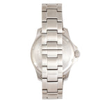 Elevon Aviator Bracelet Watch w/Date - Silver/White/Brown - ELE120-7