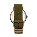 Elevon Mach 5 Canvas-Band Watch w/Date - Green - ELE123-5