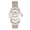 Elevon Aviator Bracelet Watch w/Date - Silver/Brown - ELE120-6