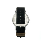 Elevon Mach 5 Canvas-Band Watch w/Date - Black - ELE123-2