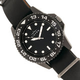 Elevon Dumont Leather-Band Watch - Black - ELE108-4