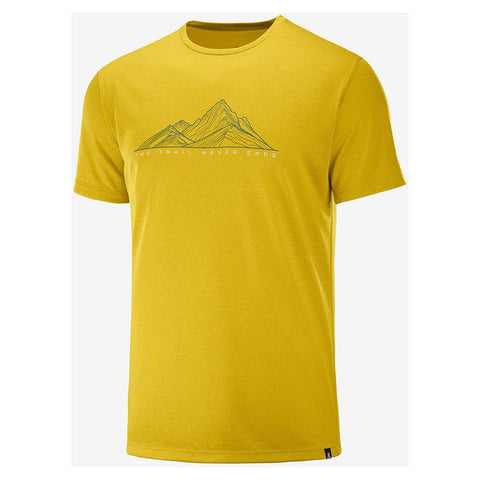 Salomon Agile Graphic Tee M - Rent and Go - Schölzhorn Sport GmbH